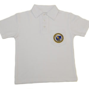 Short Sleeve Golf Shirt – White