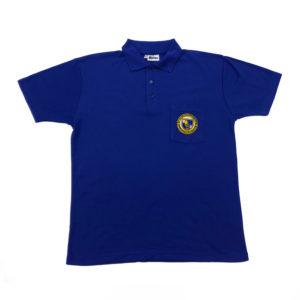 Blue House Shirt