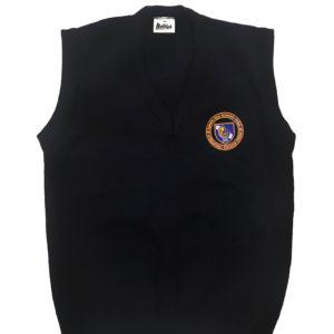 Navy Sleeveless Jersey